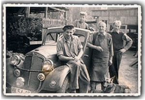 Geschichte des Autohauses Schmädicke in Potsdam-Babelsberg